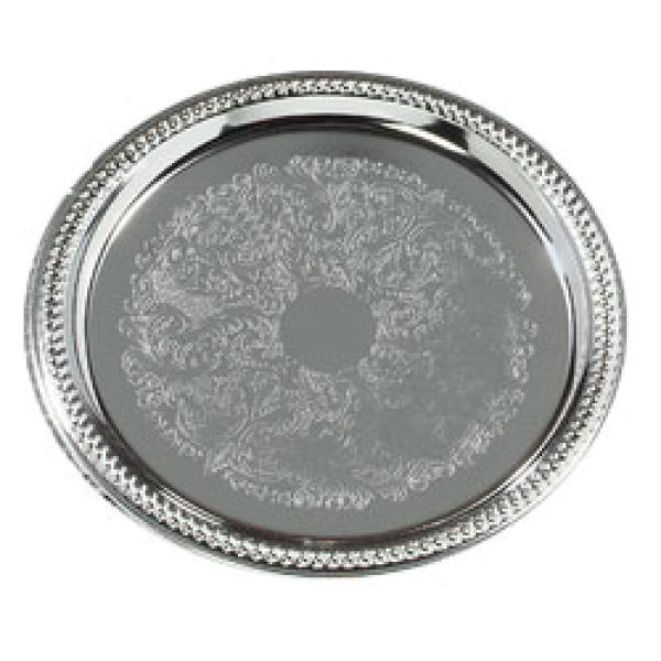 "Celebration Tray, 13"" dia., round"