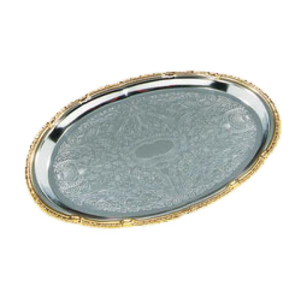 "Celebration Tray, 17-3/4""L x 12-7/8""W, oval"