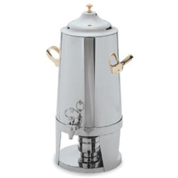 Contemporary Beverage Urn, 3 gallon, seamless tapered body