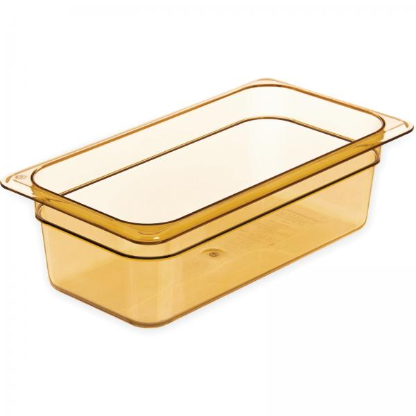 Carlisle 3086113 StorPlus High Heat Hot Food Pan, Amber