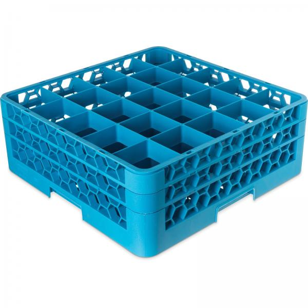 Carlisle RG25214 OptiClean Dishwasher Glass Rack, Blue