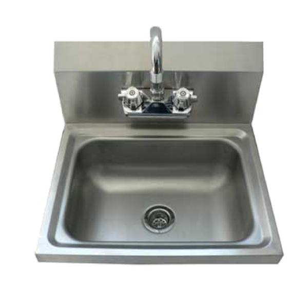 Wall-Mounted Hand Sink - 12