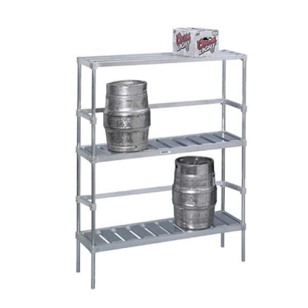 Keg Storage Rack 48 W X 17 D 68 H