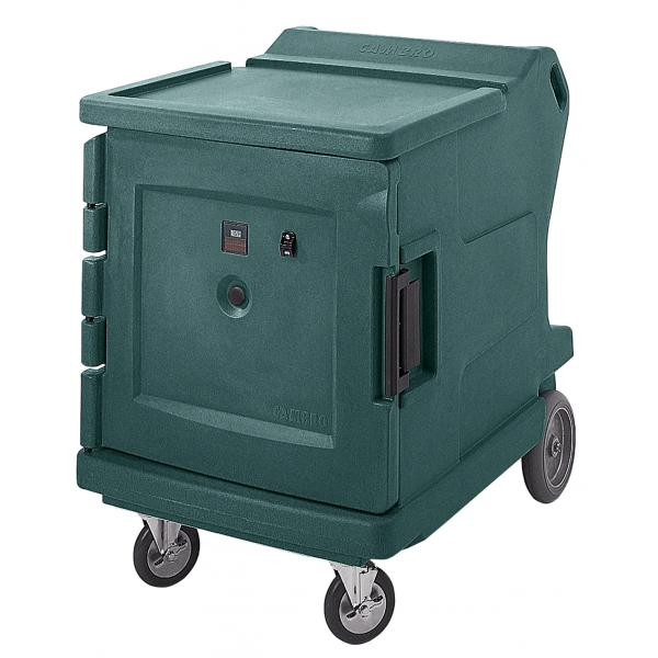 Cambro CMBHC1826LF192 Camtherm Hot/Cold Cart, Granite Green