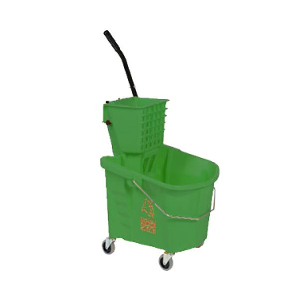 Continental 226-312GN Splash Guard? Mop Bucket/Wringer Combination ...