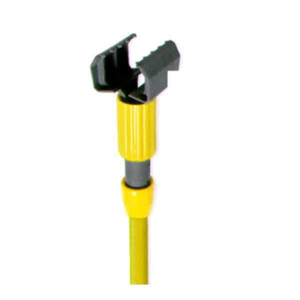 "Yellow Kitchen Equipment: Superjaws(TM) Wet Mop Handle, 60"" Long, Yellow Fiberglass"