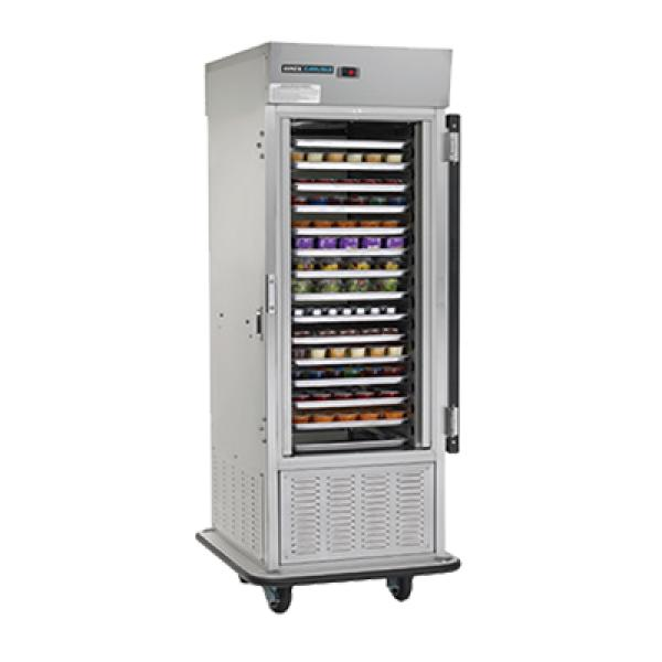 Air Curtain Refrigerator One Section Bottom Mount Self
