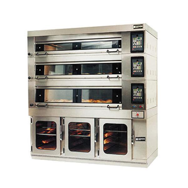Artisan Stone Triple Deck Oven Electric Energy Miser