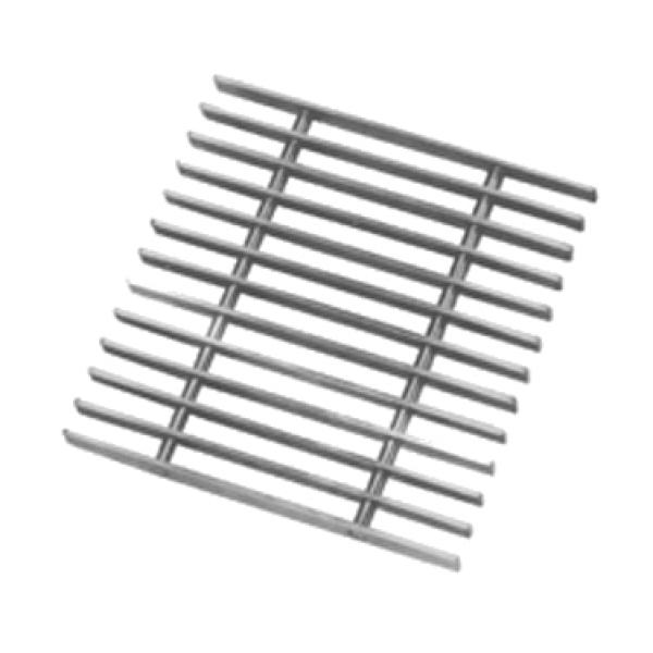 """Replacement Subway-Style Grating, 12"""" X 12"""", For 15""""W"""