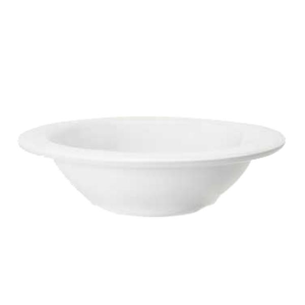 "Diamond White Bowl, 8 oz. (8 oz. rim full), 6"" dia. x 1-1/2"" deep"