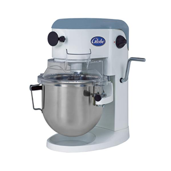Planetary Mixer, 5 qt., countertop model, 10 variable-speed, #10 attachment hub, polycarbonate