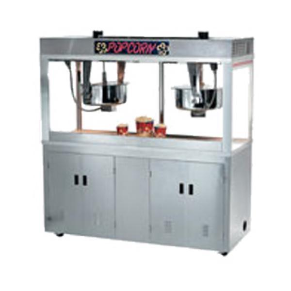 Grand Pop O Gold Popcorn Machine Electric Floor Model Restaurant Equipment Solutions