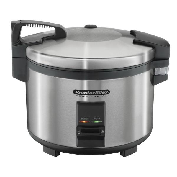 Proctor-Silex Commercial Rice Cooker/Warmer, 40 cup cooked (9 liter) capacity, includes: measuring c