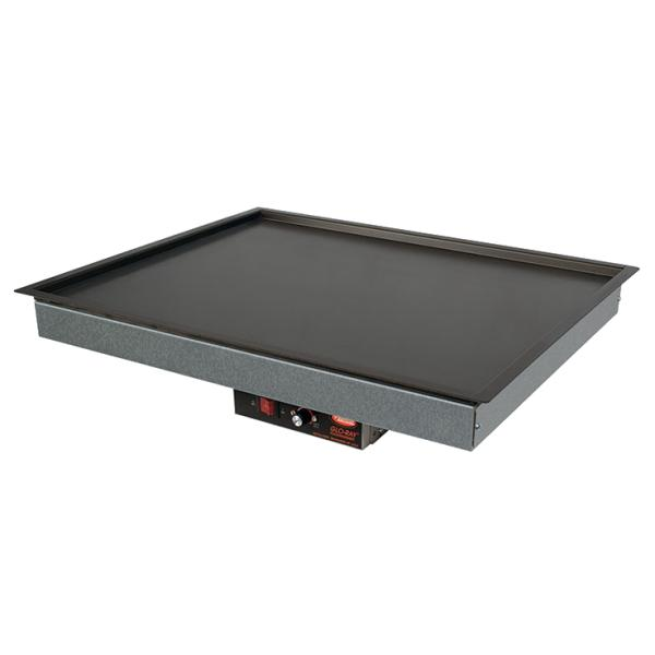 Hatco GRSB60O Glo-Ray Drop In Heated Shelf with Recessed Top