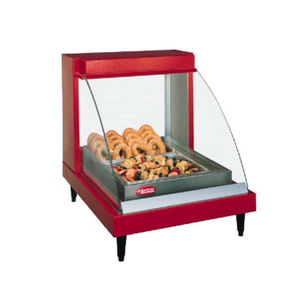 Hatco GRCDH1P Glo-Ray Designer Heated Display Case with Humidity