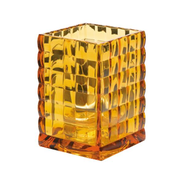 Hollowick 1533A Square Optic Block Lamp, Amber