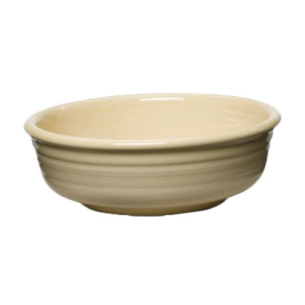 Homer Laughlin 460330 Fiesta 14-1/4 oz. China Bowl - Ivory - 12/Case