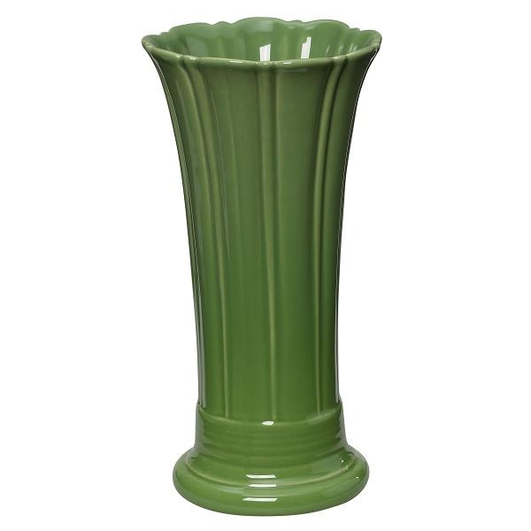"Homer Laughlin  Fiesta 9-5/8"" China Flower Vase - Shamrock - 4/Case"