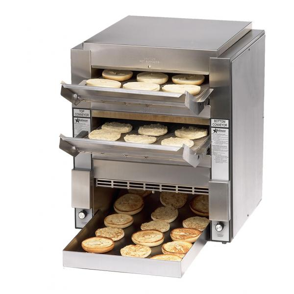 High Volume Toaster ~ Double high volume conveyor toaster quot