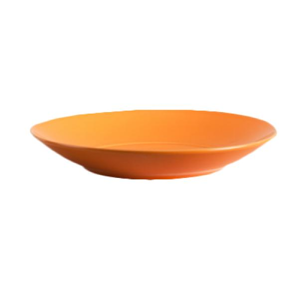 Homer Laughlin  Colorations 61 oz. China Options Bowl - Tangerine - 12/Case