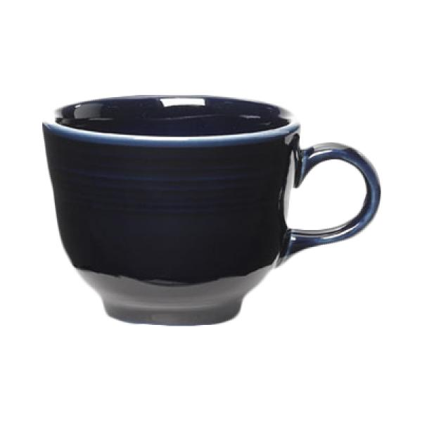 Homer Laughlin 452105 Fiesta 7-3/4 oz. China Cup - Cobalt Blue - 12/Case
