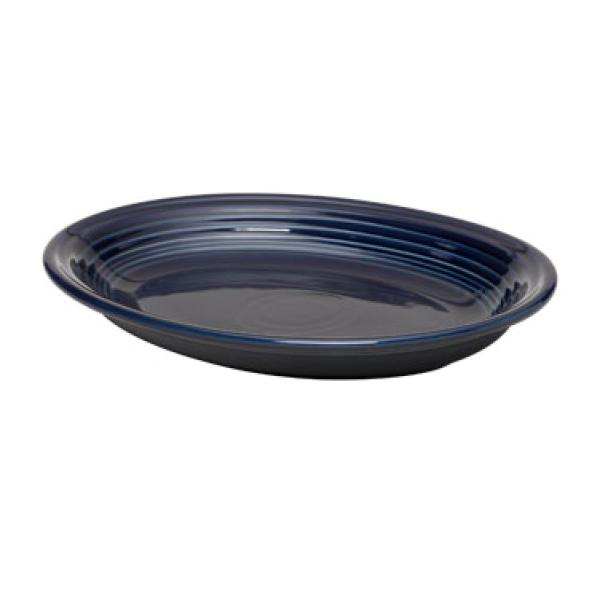 "Homer Laughlin 457105 Fiesta 11-5/8"" Oval Platter - Cobalt Blue - 12/Case"