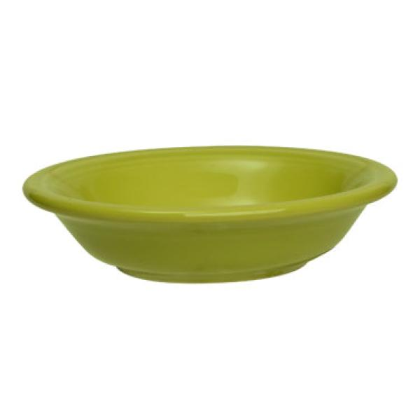 Homer Laughlin 459332 Fiesta 6-1/4 oz. China Fruit Bowl - Lemongrass - 12/Case