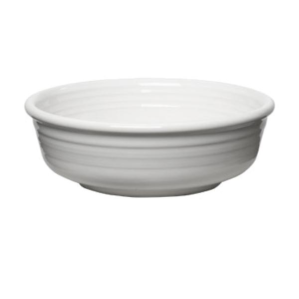 Homer Laughlin 460100 Fiesta 14-1/4 oz. China Bowl - White - 12/Case