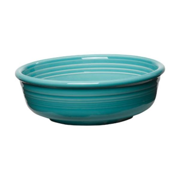 Homer Laughlin 460107 Fiesta 14-1/4 oz. China Bowl - Turquoise - 12/Case