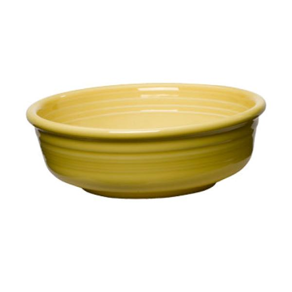 Homer Laughlin 460320 Fiesta 14-1/4 oz. China Bowl - Sunflower - 12/Case
