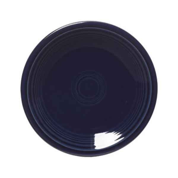 "Homer Laughlin 464105 Fiesta 7-1/4"" Salad Plate - Cobalt Blue - 12/Case"