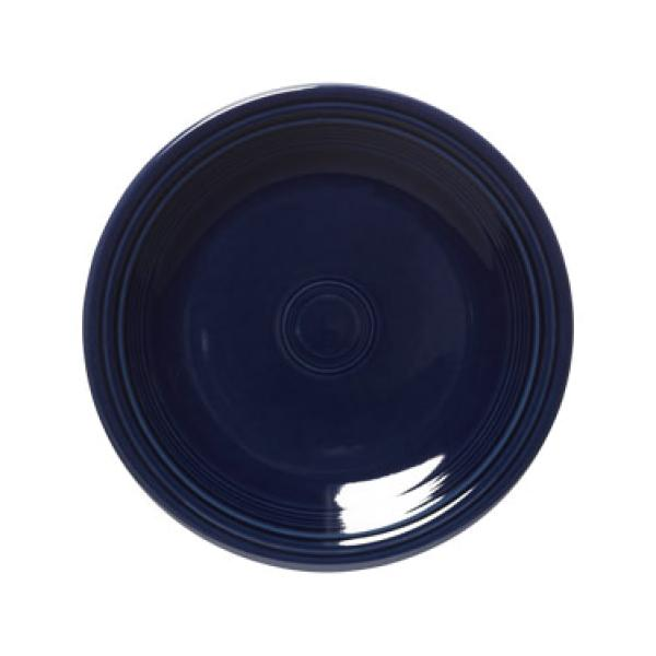 "Homer Laughlin 465105 Fiesta 9"" Lunch Plate - Cobalt Blue - 12/Case"