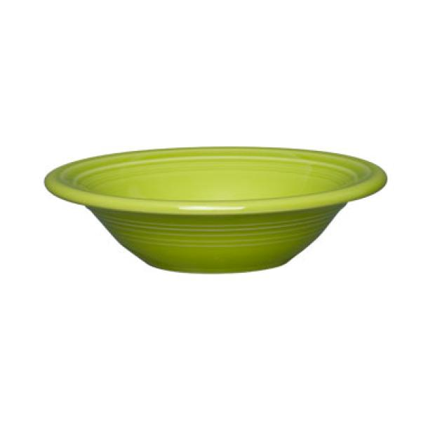 Homer Laughlin 472332 Fiesta 11 oz. China Cereal Bowl - Lemongrass - 12/Case