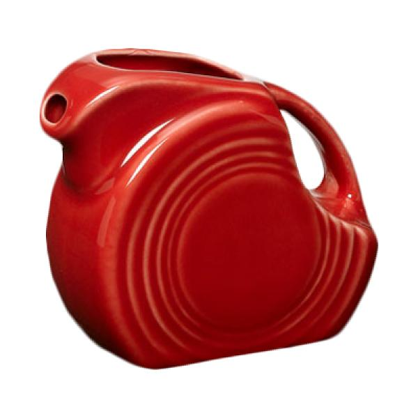 Homer Laughlin  Fiesta 4-3/4 oz. Mini Pitcher Creamer - Scarlet - 4/Case