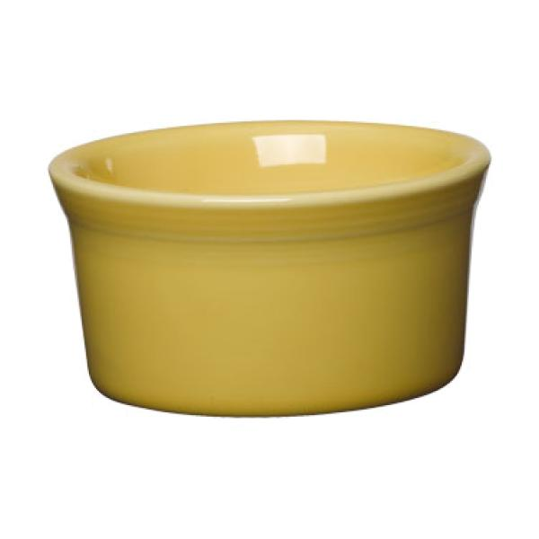 Homer Laughlin  Fiesta 8 oz. China Ramekin - Sunflower - 6/Case