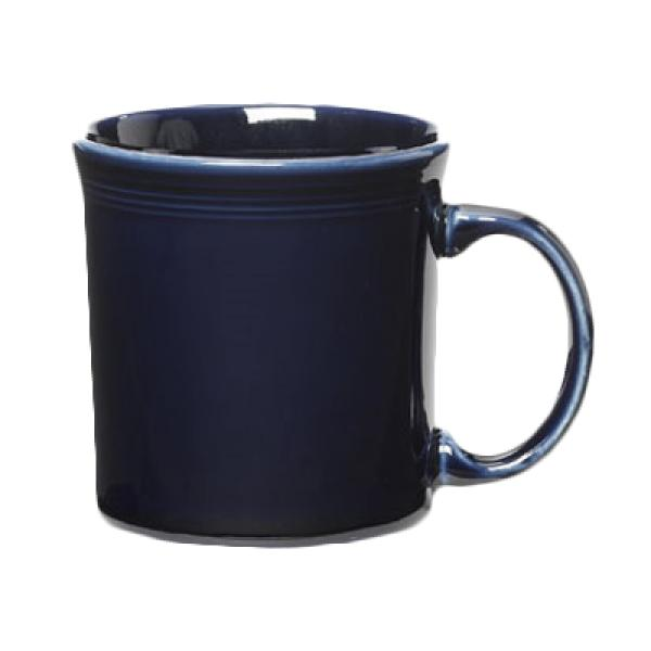 Homer Laughlin 570105 Fiesta 12 oz. China Java Mug - Cobalt Blue - 12/Case