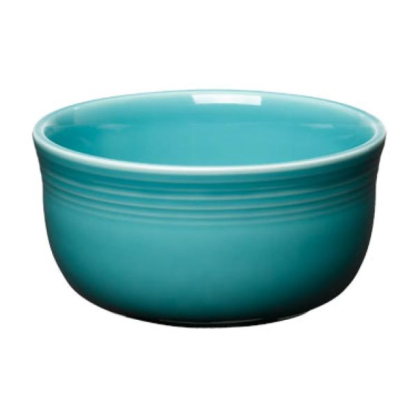 Homer Laughlin 723107 Fiesta 24 oz. Gusto Bowl - Turquoise - 6/Case