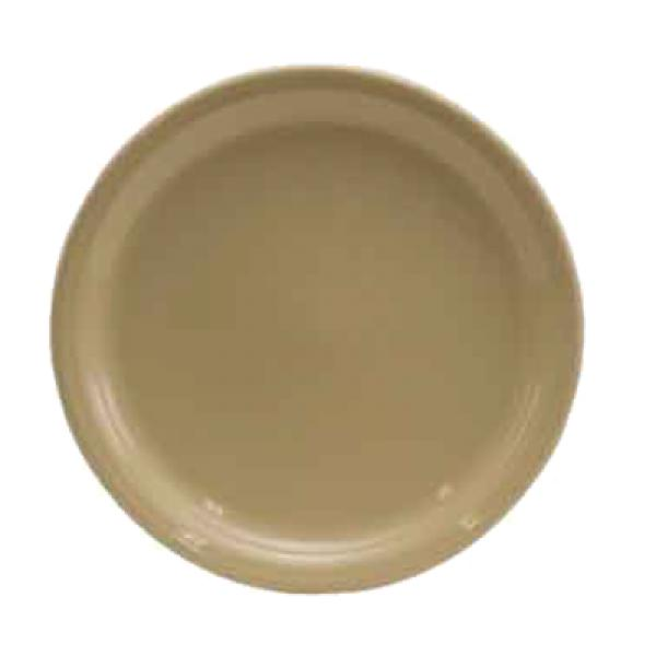 "Homer Laughlin  Fiesta 9"" Healthcare Plate - Ivory - 12/Case"