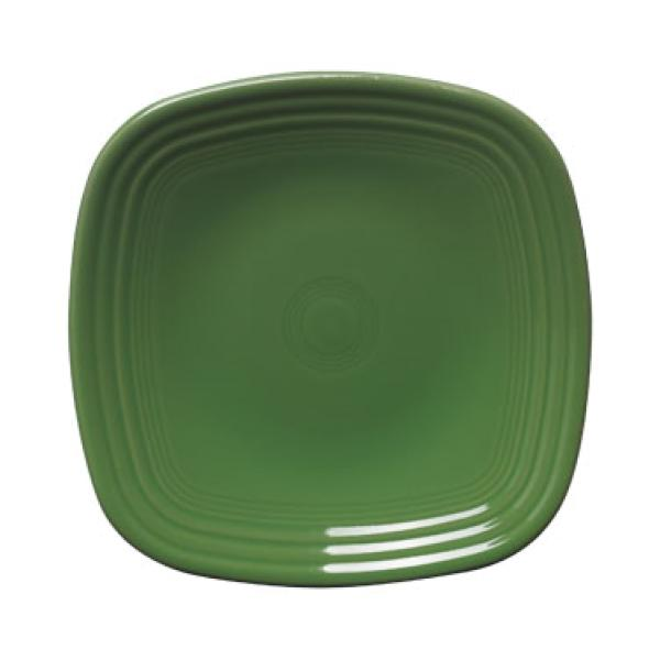 "Homer Laughlin 921324 Fiesta 7-3/8"" Square Salad Plate - Shamrock - 12/Case"