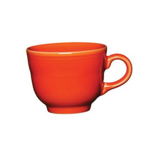Homer Laughlin  Fiesta 7-3/4 oz. China Cup - Scarlet - 12/Case