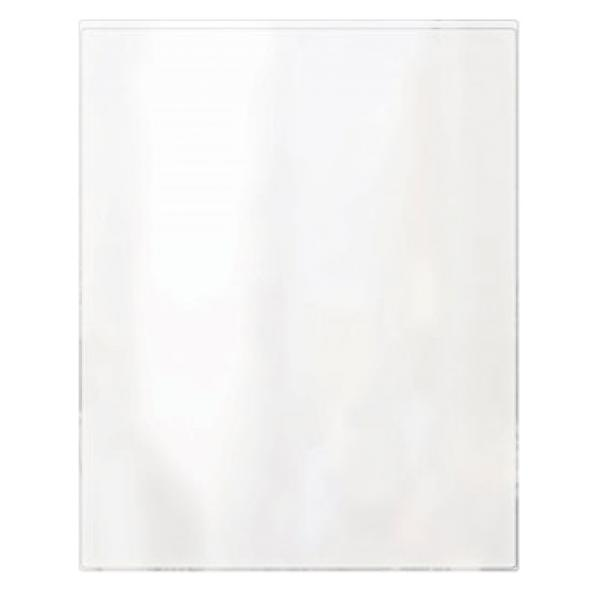 "Menu Cover, 11"" x 17"", single pocket, 2 view, clear vinyl, heat sealed, (minimum order 2"
