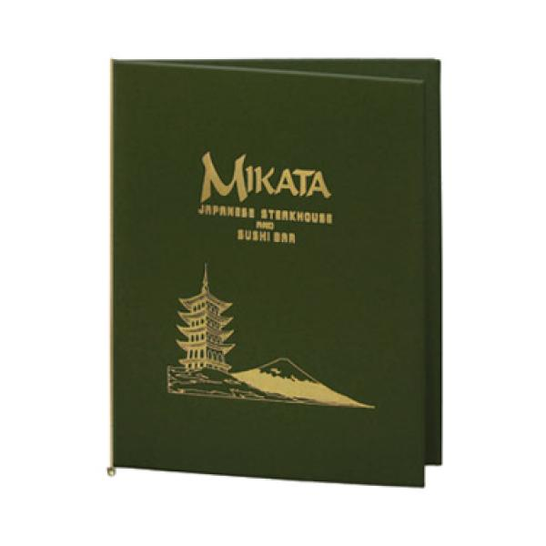 augusta menu cover 4 1 4 x 14 holds folded menu sheets with