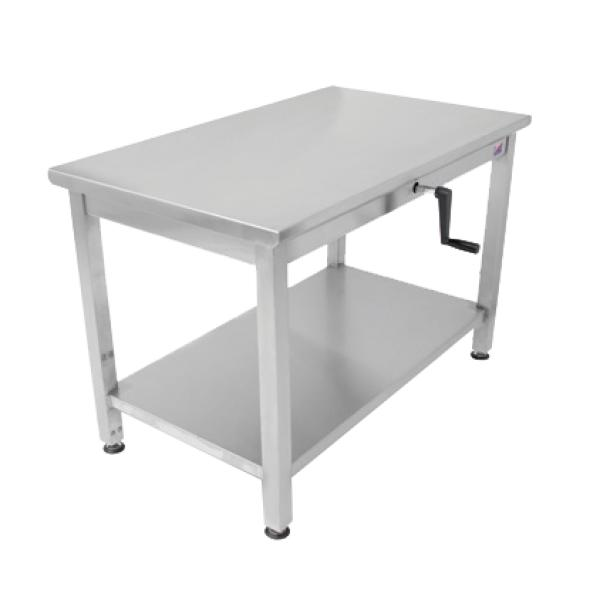 ADA Work Table With Adjustable Height W X D Restaurant - Ada restaurant table