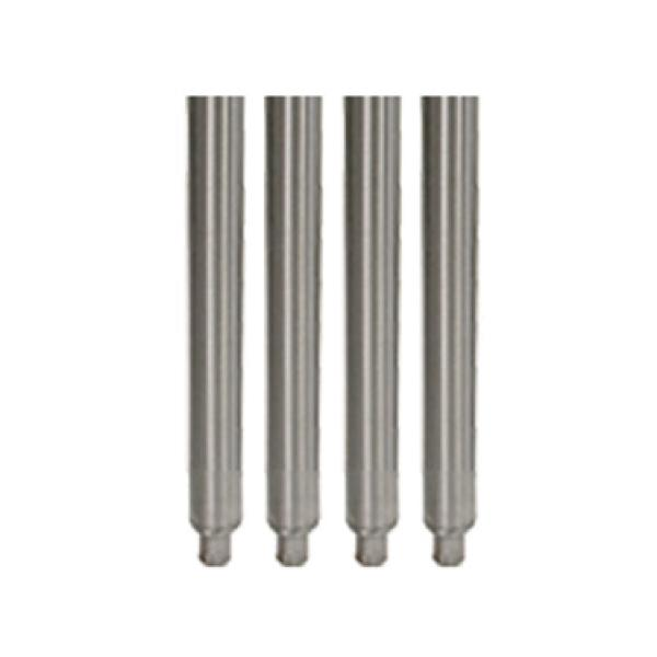 Stainless Steel Legs 19 Quot H With Adjustable Bullet Feet