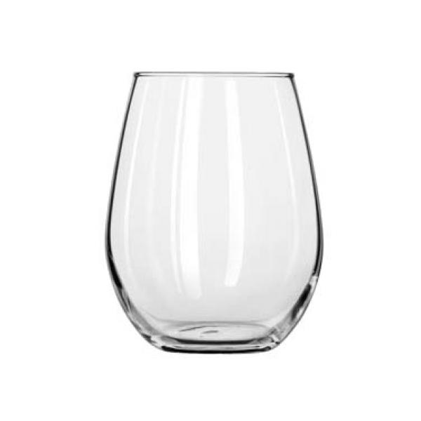 Libbey 207 9 oz. Stemless Wine Taster Glass