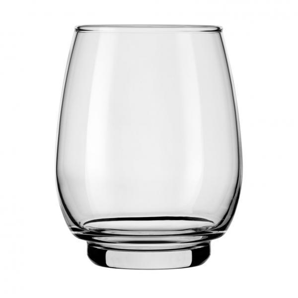 Beverage Glass, 15 oz.. (444 ml), stackable, Safedge(R) rim guarantee, heat-treated, Orbital (H 4-1/