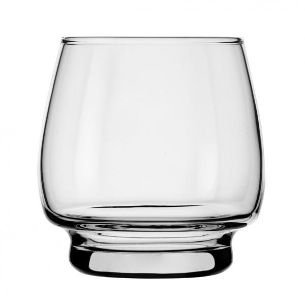 Rocks Glass, 10 oz.. (296 ml), stackable, Safedge(R) rim guarantee, heat-treated, Orbital (H 3-3/8