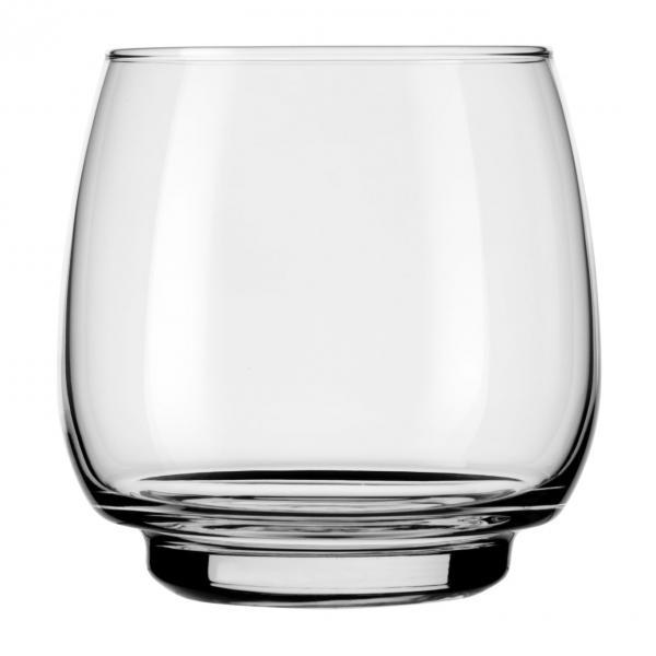 Beverage Glass, 16 oz. (495 ml), stackable, Safedge(R) rim guarantee, heat-treated, Orbital (H 3-3/4