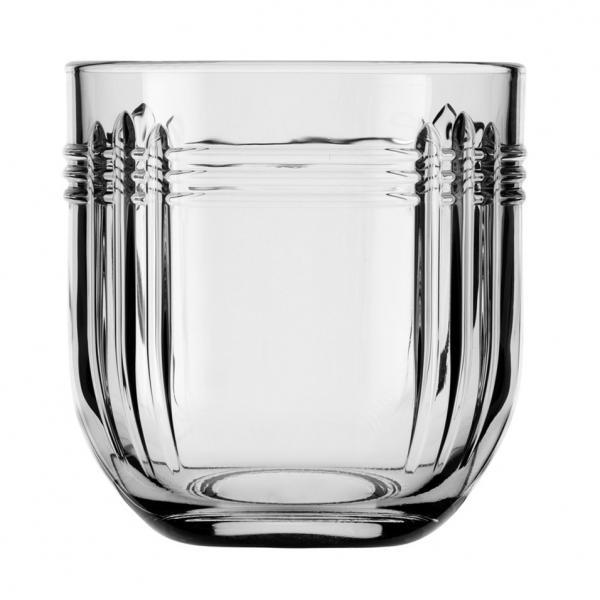 """Rocks Glass, 9-3/4 oz.. (290 ml), The Gats (H 3-1/4""""; T 3-1/8""""; B 1-5/8"""": D 3-1/4"""