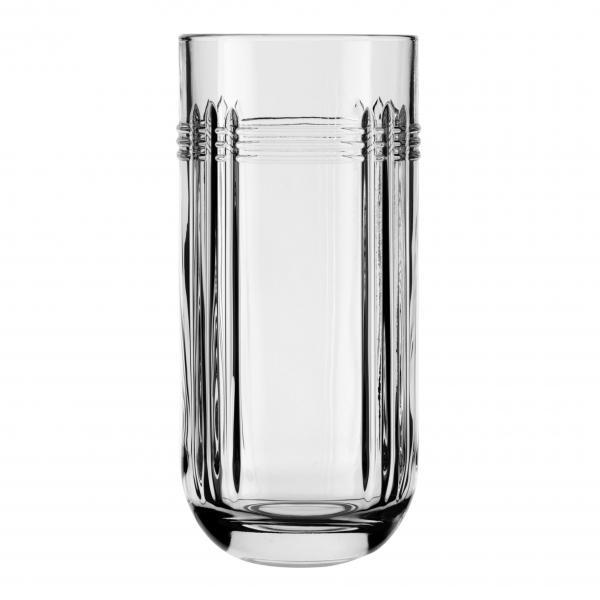 "Hi-Ball Glass, 11-3/4 oz.. (350 ml), The Gats (H 5-3/4""; T 2-5/8""; B 1-5/8"": D 2-3/4"